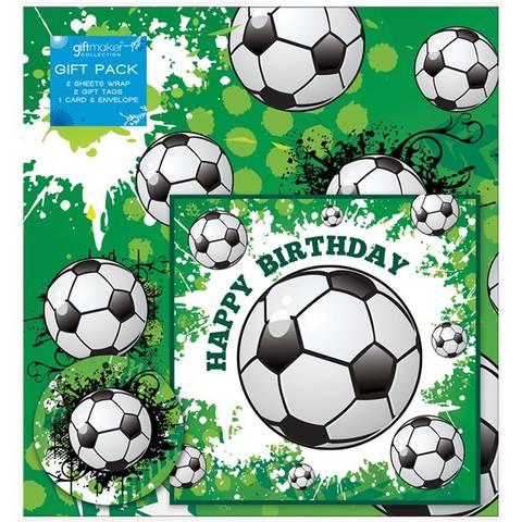Bilde av Innpakningspakke Fotball 2pk.