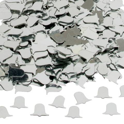 Bilde av Konfetti Bryllupsklokker Sølv 14g