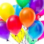 Ensfargede Ballonger