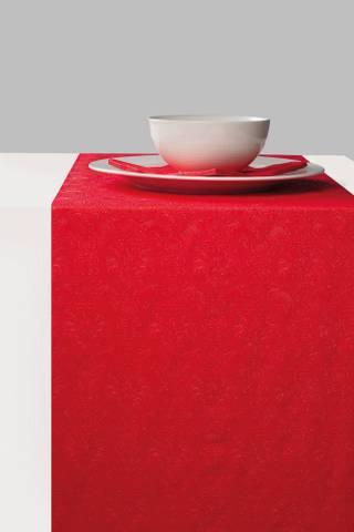Bilde av Elegance Bordløper Perle Rød 33cm x 6m