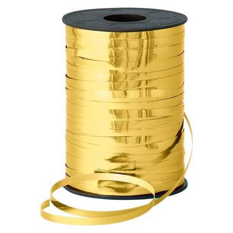 Bilde av Ballong Bånd Gull Metallisk 250m