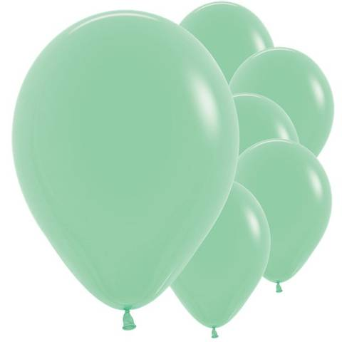 Bilde av Ballonger Mint Grønn Lateks 30cm x 50stk