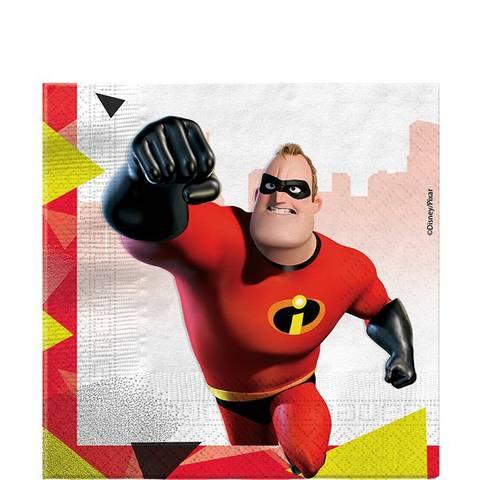 Bilde av The Incredibles 2 Servietter 33cm 16stk