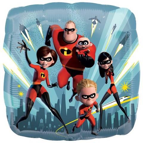 Bilde av  The Incredibles 2 Ballong  44cm Folie