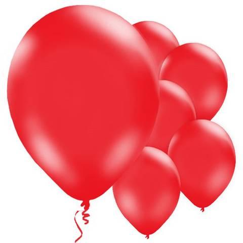 Bilde av Ballonger Røde Lateks 28cm 10stk